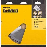 DeWalt, DT4094, Пильный диск по дереву/алюминию EXTREME DEWALT® для ручных дисковых пил 190/30 1.8/