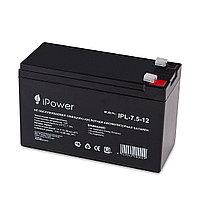 Аккумуляторная батарея IPower IPL7.5-12, фото 1