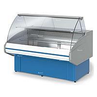 Витрина холодильная Golfstream Двина 120 ВВ-0,25-1,7-1-4К, голубая