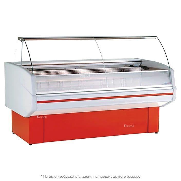 Витрина холодильная Golfstream Двина 120 ВН, красная