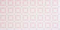 Декоративные стеновые панели ПВХ (Мозаика шоколад розовый)
