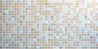 Декоративные стеновые панели ПВХ (Мозаика коричневая)