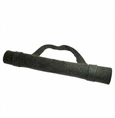 Коврик для сауны серого цвета