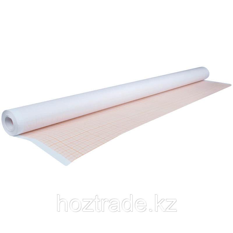 Бумага масштабно-координатная AstKanz, 640мм*10м, оранжевая