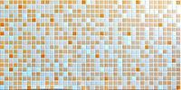 Декоративные стеновые панели ПВХ (Мозаика оранжевая)
