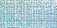 Декоративные стеновые панели ПВХ (Мозаика зеленая)