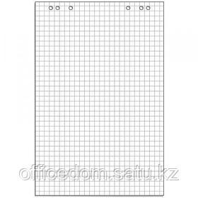 Бумага для флипчартов, 67,5х98 см, 20 листов, клетка