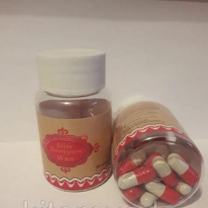 Samyun Wan Самуин Ван для похудения ( Индонезия, красно-белые капсулы) 30 кап.