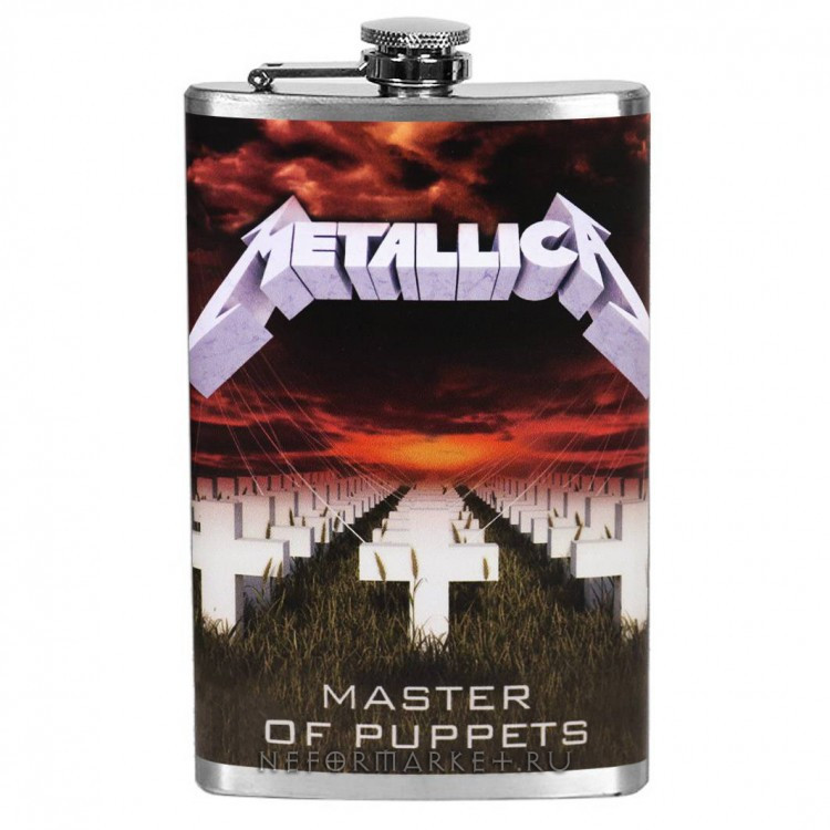Металлическа фляжка Metallica - Master of Puppets