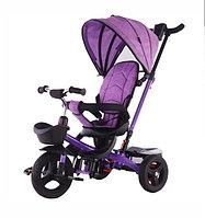 Детский трехколесный велосипед 6199 сиреневый