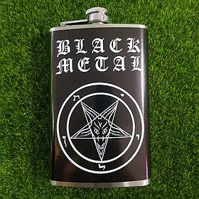 Металлическа фляжка Black Metal