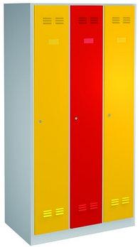 Шкаф для одежды, 3 секции - 950/3V UNIOR