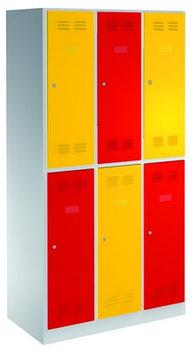 Шкаф для одежды, 6 секций - 950/6 UNIOR
