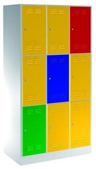 Шкаф для одежды, 9 секций - 950/9 UNIOR