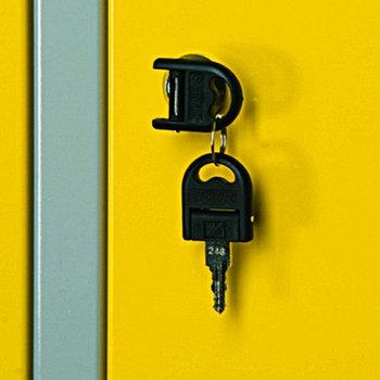 Замок с ключом к шкафу для одежды - K950 UNIOR