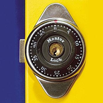 Замок комбинационный с ключом к шкафу для одежды - K950COMB UNIOR