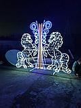 Изготавливаем: Каркасные светодиодные конструкции, для оформления улиц, скверов, парков, площадей., фото 8