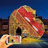 Изготавливаем: Каркасные светодиодные конструкции, для оформления улиц, скверов, парков, площадей., фото 6
