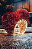 Изготавливаем: Каркасные светодиодные конструкции, для оформления улиц, скверов, парков, площадей., фото 4