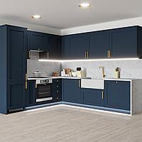 Синяя кухня в современной классике