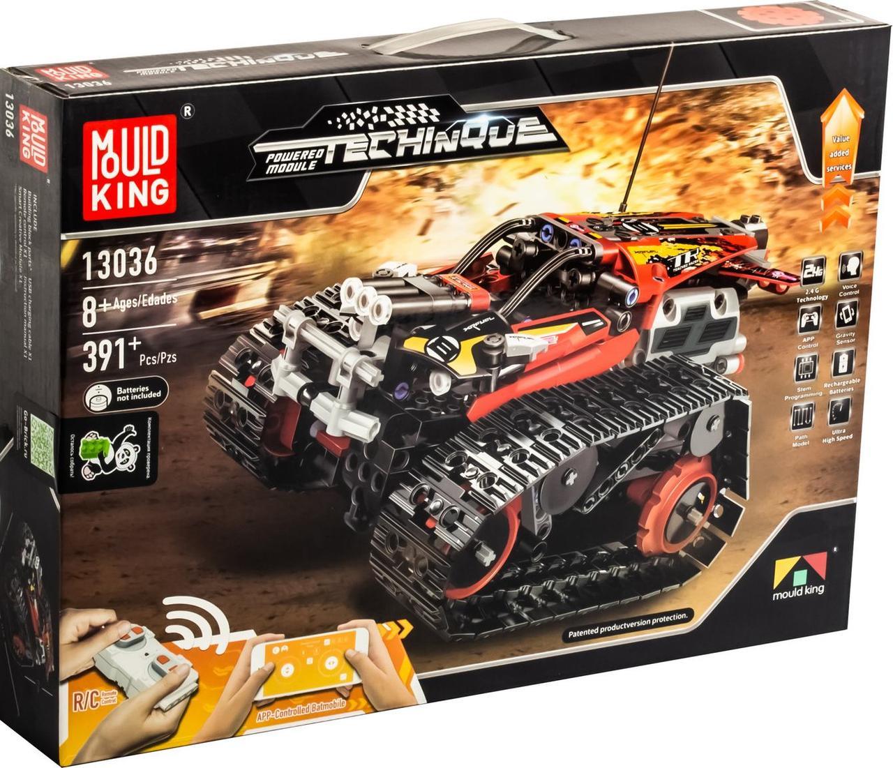 Конструктор Mould King 13036 Красный скоростной вездеход с ДУ, 391 дет. (Аналог LEGO)