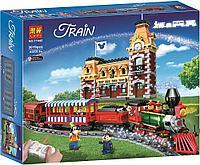 Lari Disney 11442 Конструктор Поезд и станция Дисней, 3019 дет. (Аналог LEGO 71044)