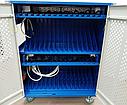 Тележка для зарядки и хранения 30 ноутбуков, фото 4