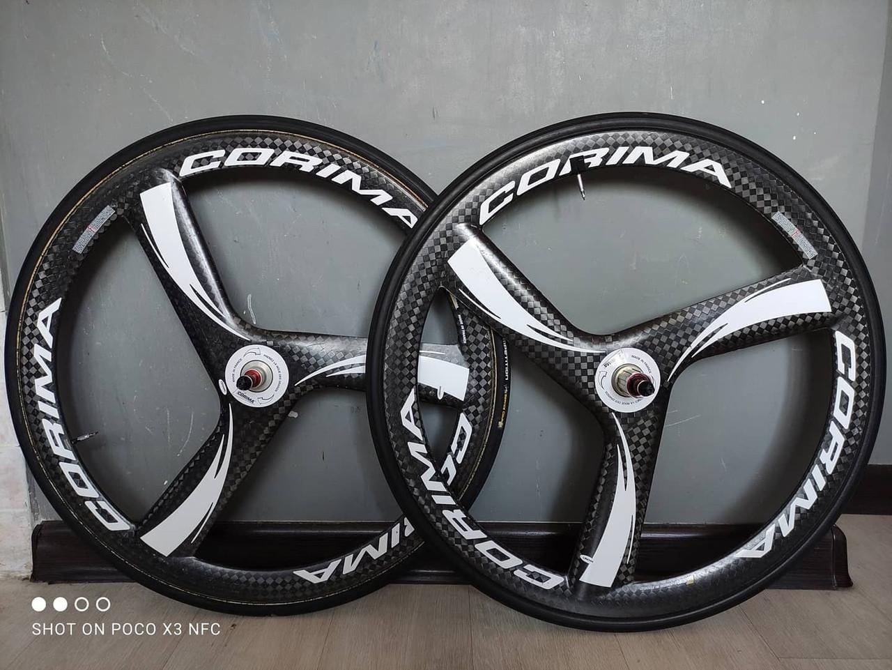 Французские 3-х спицевые колеса Corima