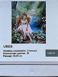 "Картина по номерам ""Ангелочек у ручья"", 40х50 см"