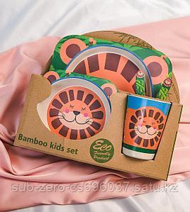 Набор детской посуды Lion