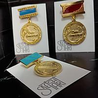 Изготовление металлических значков и медалей