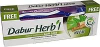Зубная паста Dabur Herb'l Neem (с зубной щёткой)