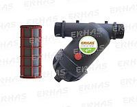 Фильтр сетчатый Y образный 120 mesh 1 1/2' 40mm Erhas