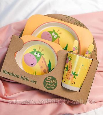 Набор детской посуды giraffe