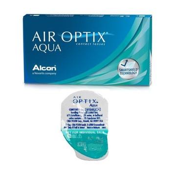 Контактные линзы Alcon Air Optix Aqua 3 линзы - фото 2