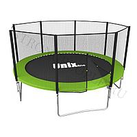 Батут UNIX line Simple 12 ft (outside) (green)
