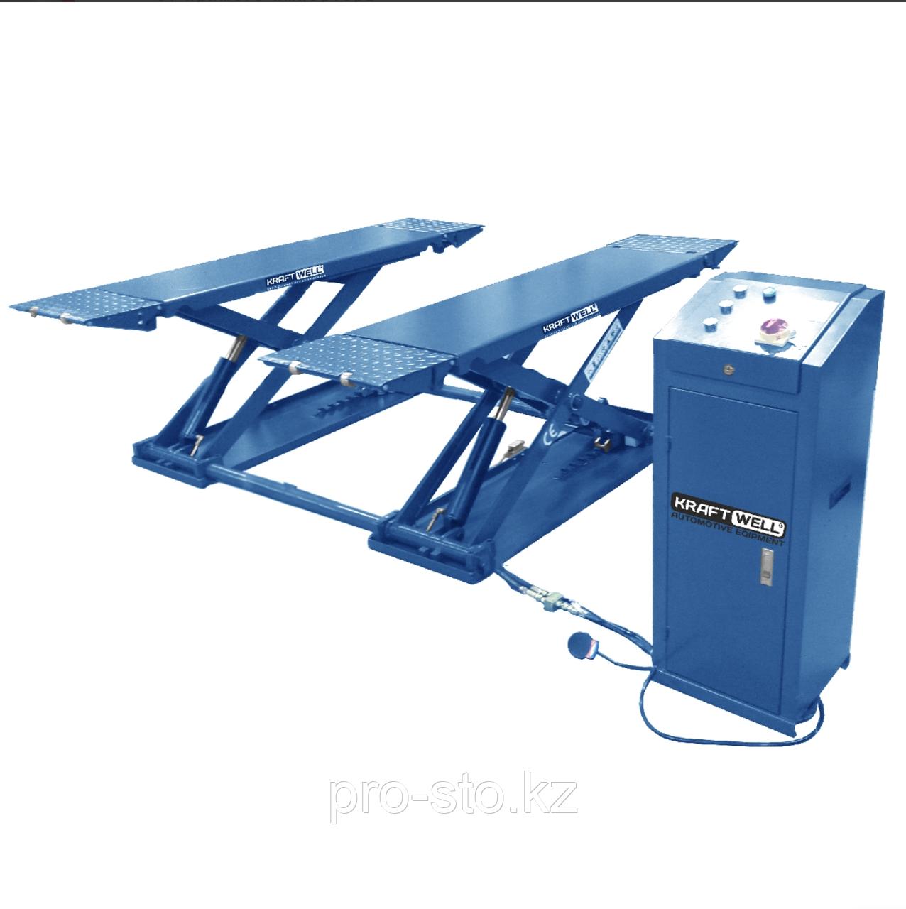 Подъёмник ножничный шиномонтажный  KraftWell