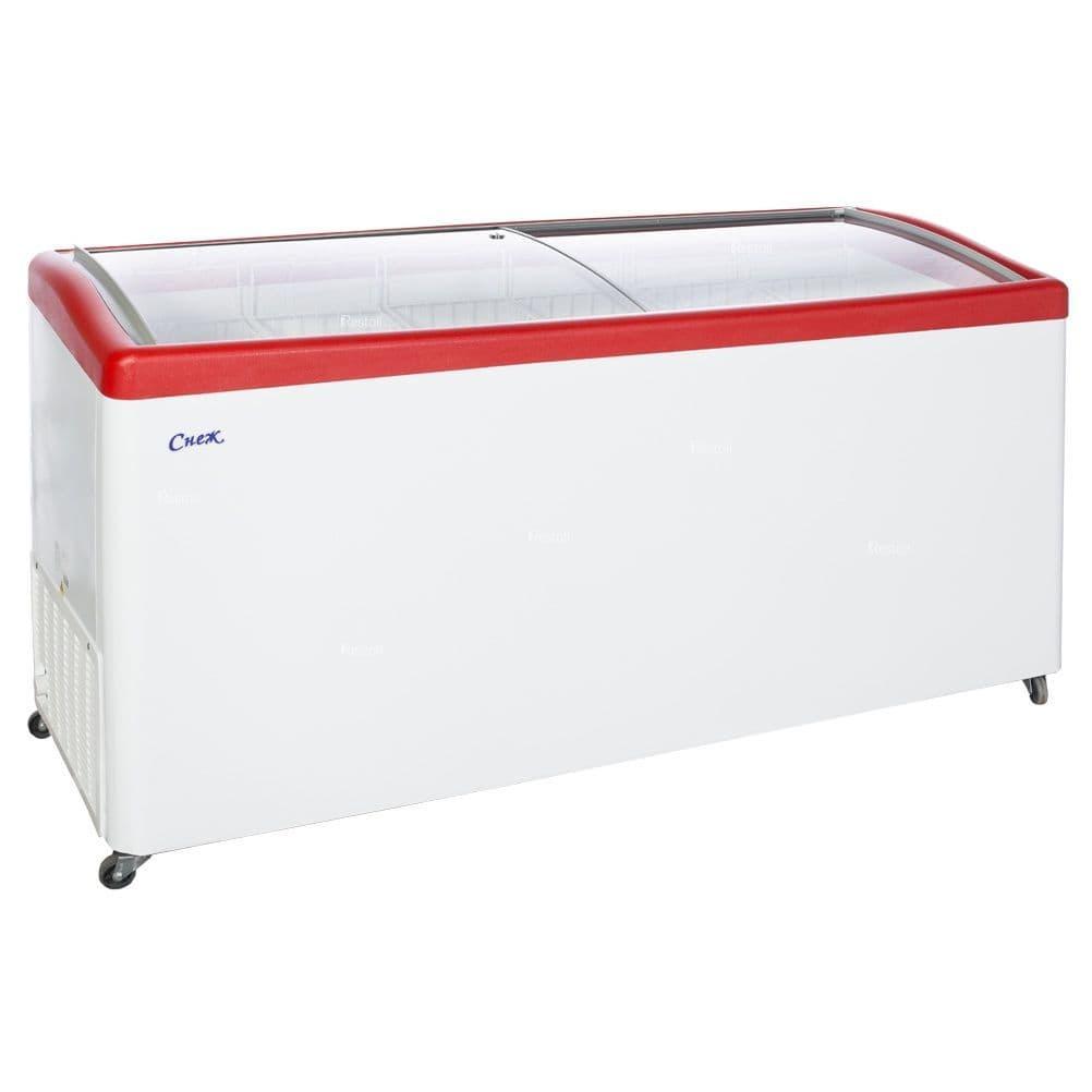 Ларь морозильный Снеж МЛГ-600 красный