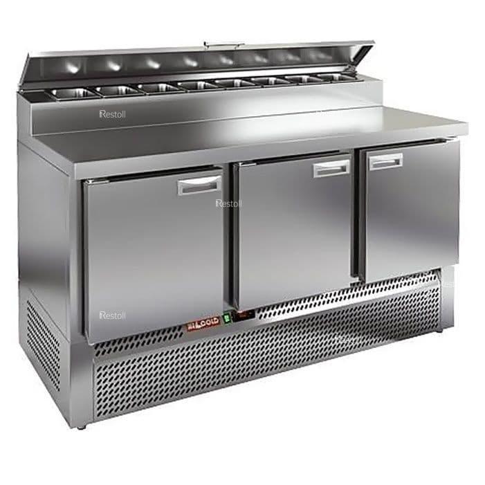 Стол холодильный для пиццы Hicold PZE2-111/GN (8xGN1/6)