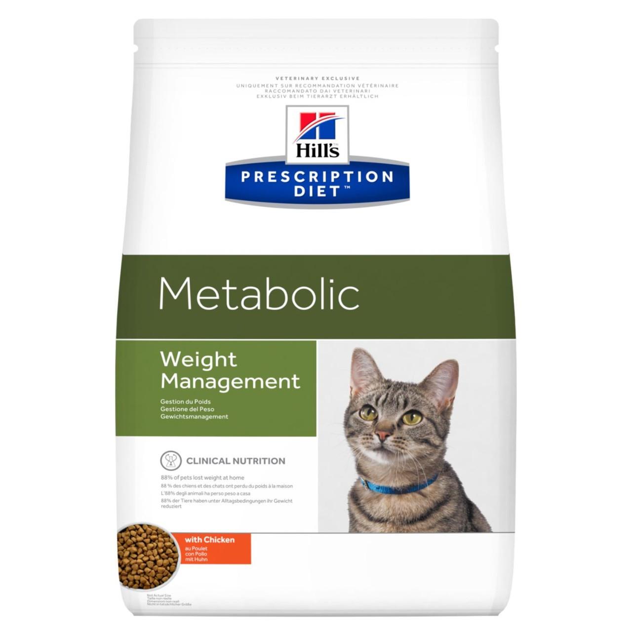 Hill's Prescription Diet Metabolic снижение веса, курица, уп.1,5 кг