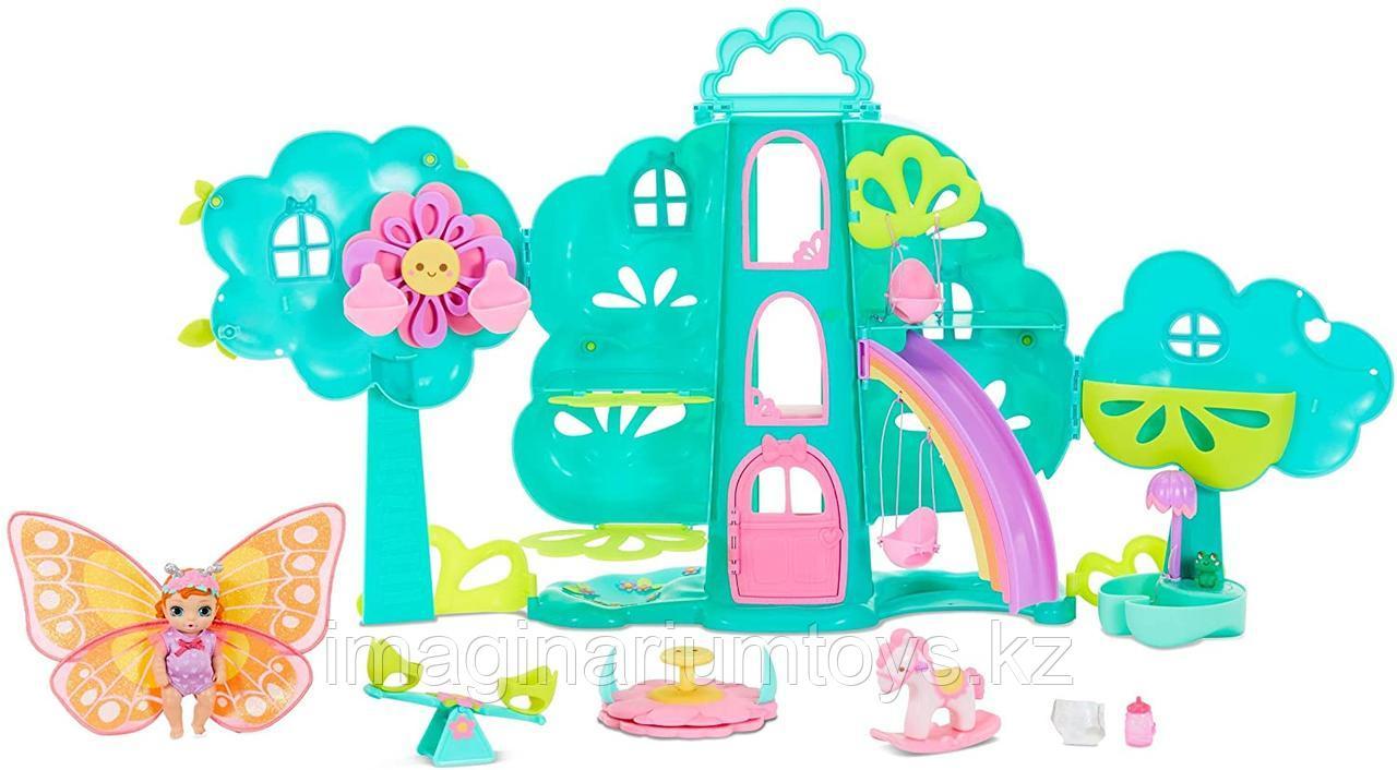 Baby Born Surprise Домик на дереве игровой набор с куклой - фото 1