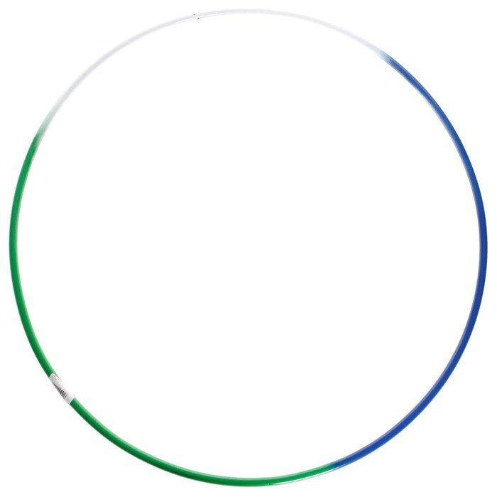 Обруч гимнастический Радуга, стальной, d=90 см