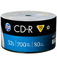 Диск HP CD-R 700MB 52x, 1шт
