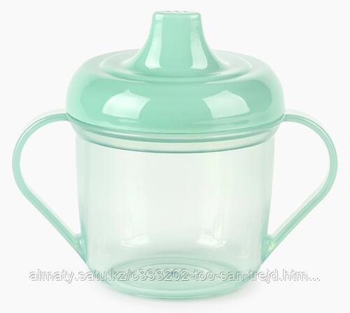 Поильник Happy Baby 170 мл Training Cup (Olive,Lilac) 170 мл