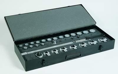 Ключ динамометрический TECNOGI с набором насадок - серия 900С UNIOR