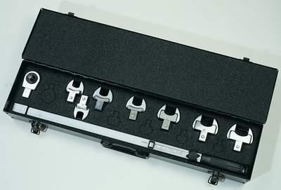 Ключ динамометрический TECNOGI с набором насадок - серия 900D UNIOR