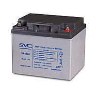 Аккумуляторная батарея SVC VP1238, 12В 38 Ач, фото 1