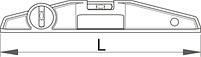 Спиртовой уровень Торпедо - 1253 UNIOR, фото 2