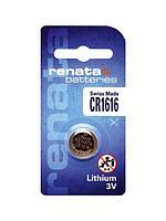Батарейка Renata CR1616, 3V