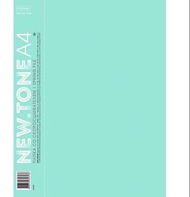 """Папка пластиковая """"Hatber Premium"""", А4, 700мкм, 17мм, пружиный скоросшиватель, серия """"NT Pastel - Мя"""